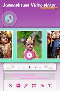 Download Janmashtmi Photo Video Maker For PC Windows and Mac apk screenshot 2