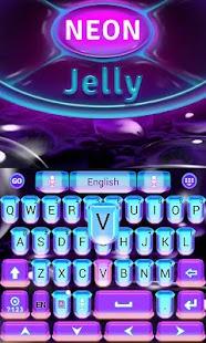 Neon-Jelly-GO-Keyboard-Theme 4