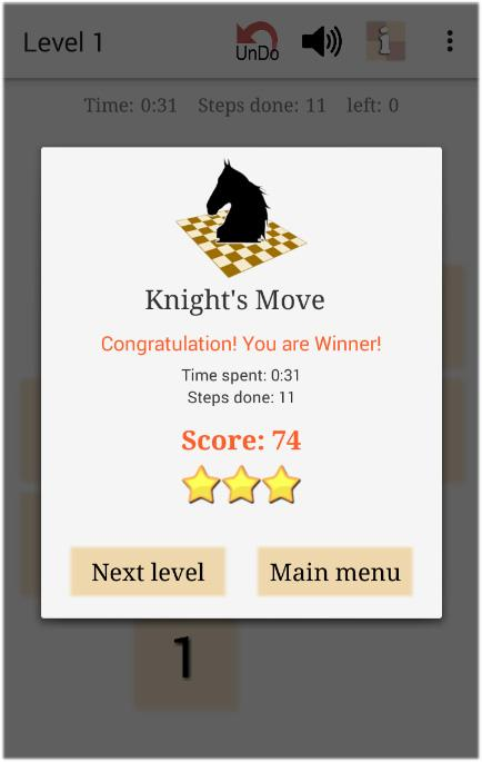 Chess Puzzle - Knight's Move- screenshot