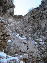 Photo: Snežne razmere pod bivakom