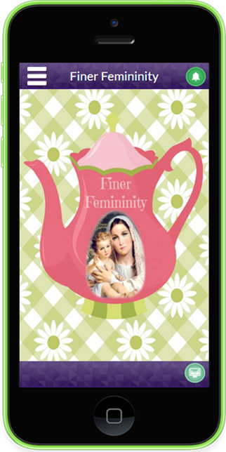 Finer Femininity App- screenshot