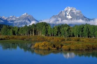 Photo: Mt. Moran, Oxbow Bend, Grand Teton National Park, Wyoming