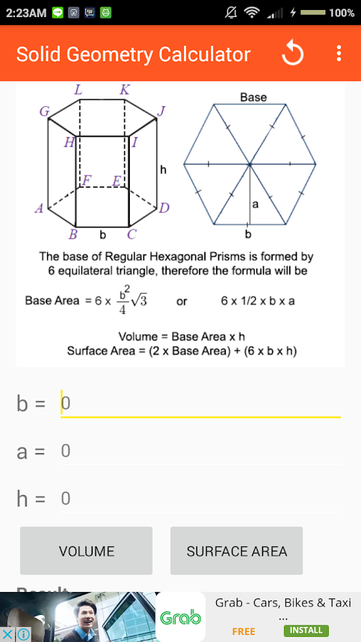 Solid geometry calculator android apps on google play solid geometry calculator screenshot ccuart Image collections
