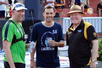 Photo: Left, Adam McDonald. Centre ?. Right, Rocket Rod Gillett. Photo, Trent Mears and Ross McRae.