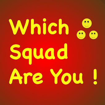Which Squad Character are you !! Play xd quizlet