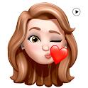3D Emoji Animated Stickers WAStickerApps icon