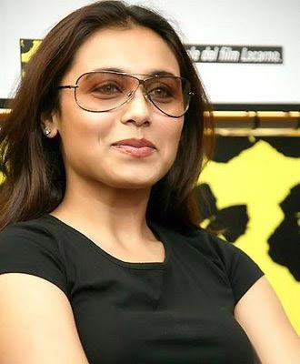 Rani Mukerji in sunglasses, Rani Mukerji smile