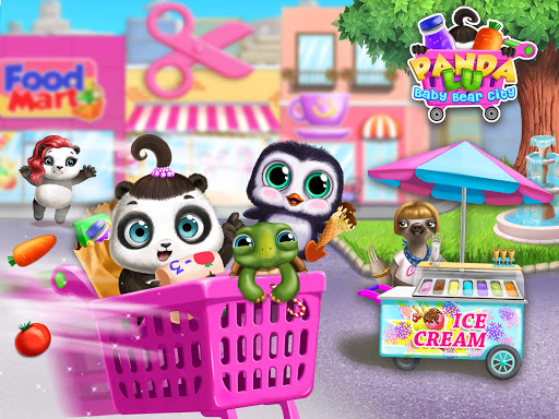 Panda Lu Baby Bear City - Pet Babysitting & Care 3.0.4 screenshots 13