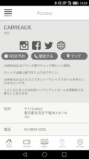 CARREAUX.(カロ) - náhled