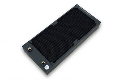 EK Coolstream radiator, CE 280, 2x140-45