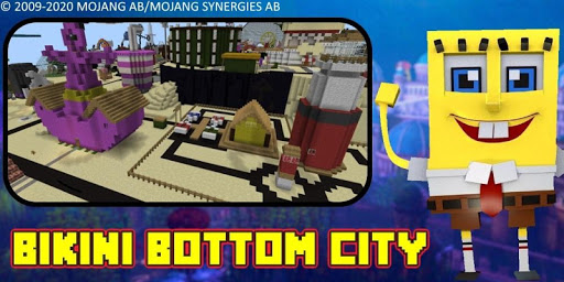 Bikini Bottom City Craft Map 7.0 screenshots 16