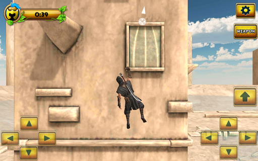 Ninja Samurai Assassin Hero screenshot 2