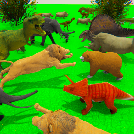 Wild Animals Kingdom Battle Simulator 2018 1.0