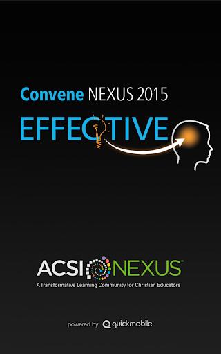 ACSI NEXUS 2015