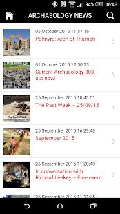 Archaeology News - náhled