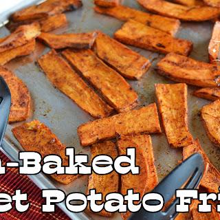 Oven-Baked Sweet Potato Fries.
