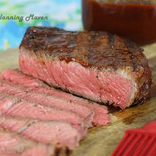Sweet 'n Tangy BBQ London Broil.