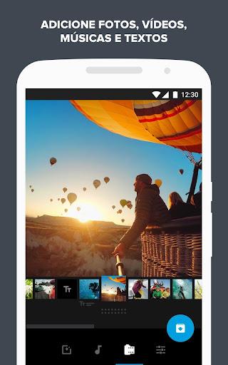 Quik - Editor de Vídeo da GoPro para fotos, clipes screenshot 1