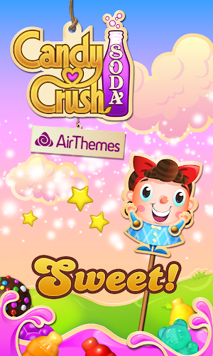 Candy Crush Soda Air Theme Android App Screenshot