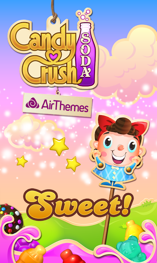 Candy Crush Soda Air Theme- screenshot