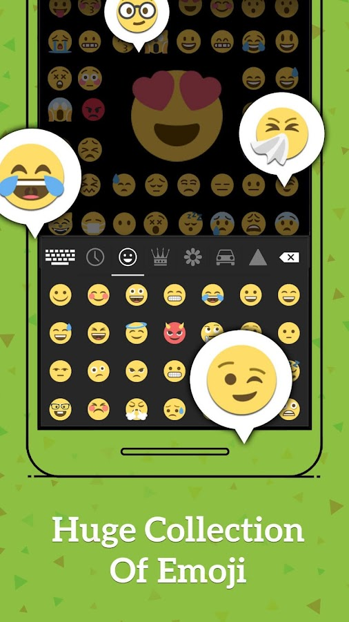 Smart Emoji Keyboard- screenshot