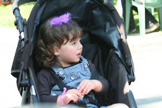 Photo: A young visitor to the Priston Festival.© Rebecca Bottle 2008