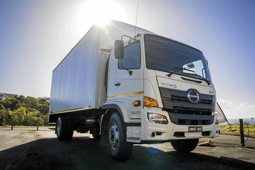 The new Hino 500. Picture: HINO