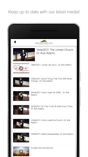 Greater Portland Baptist- screenshot thumbnail