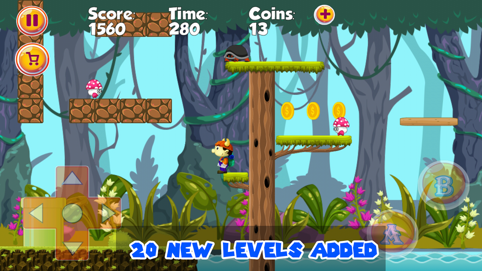Screenshots of Super Viking for iPhone