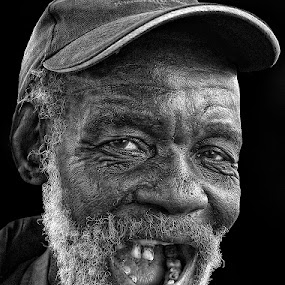 Mkize  by Ben Myburgh - People Portraits of Men