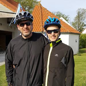 Alex et son fils Clément