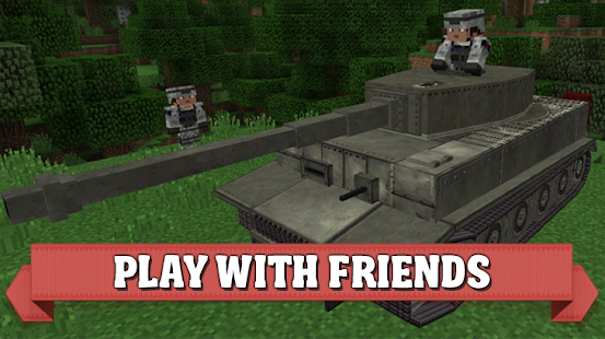 Mod World of Tanks for Minecraft PE - náhled