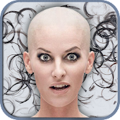 Bald Head Funny Photo Montage
