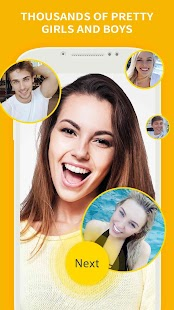 Live Chat - Meet new people via free video chat - náhled