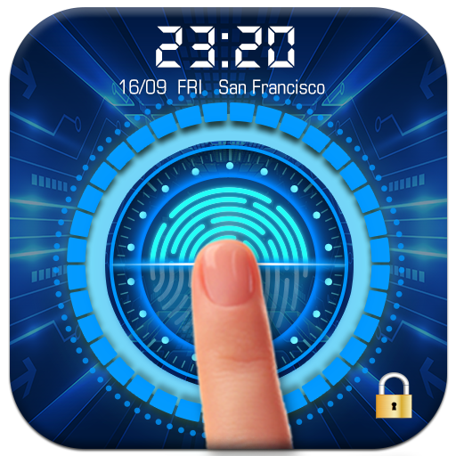 Easy fingerprint style lock screen for prank file APK for Gaming PC/PS3/PS4 Smart TV