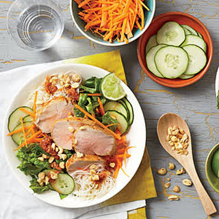 Vietnamese Barbecue Pork and Noodle Salad.