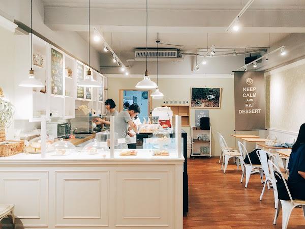 Miss V Bakery 捷運中山站 在台灣也能吃到日本丸久小山園抹茶製成的抹茶起司塔 Miss妮波 nipplesmurmur