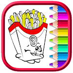 Book Coloring Shopkins Learning2 Icon