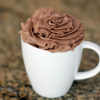 Chocolate Whipped Cream.