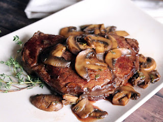 Balsamic & Bourbon Filet Mignon Recipe
