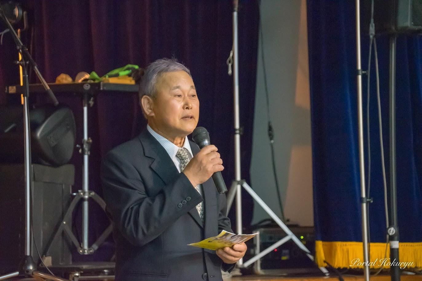 北竜町文化連盟・山岸正俊 会長