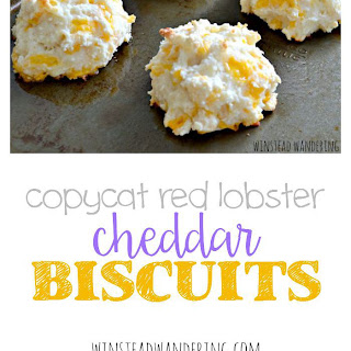 Copycat Red Lobster Cheddar Biscuits.