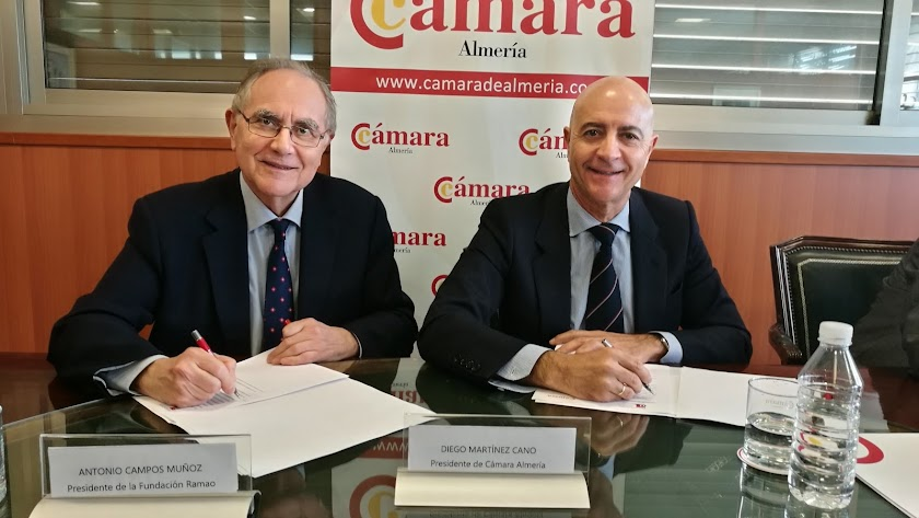 Los presidentes de la Cámara y la RAMAO firman el convenio