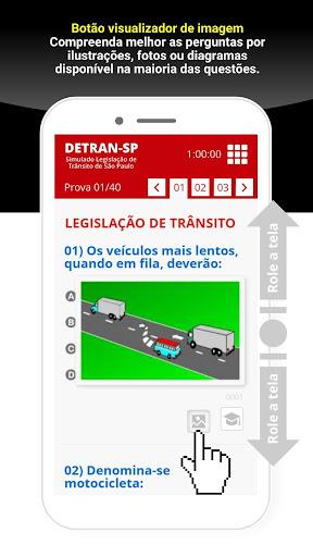 Simulado Detran São Paulo - SP screenshot 2