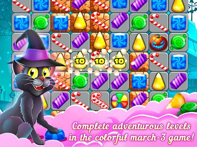 android 3-Süßigkeit: Süße Geheimnis Screenshot 12