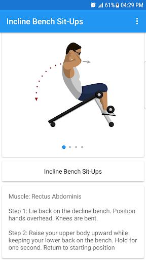 Fitness & Bodybuilding 1.3 screenshots 2