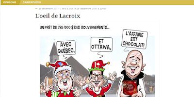 L'oeil de Lacroix Le Quotidien
