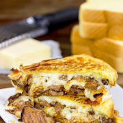 Beef Brisket Grill Cheese