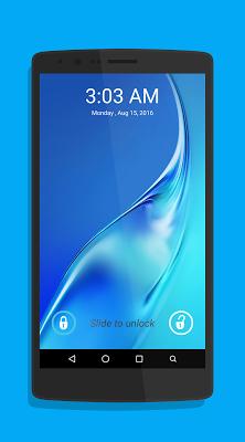 J7 2016 Lock Screen - screenshot