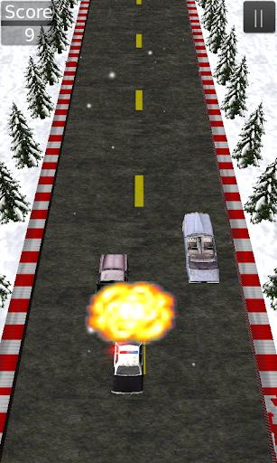 Police Run Chase Smash